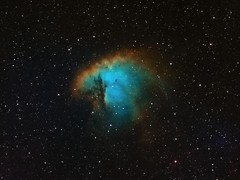 NGC 281 - The Pacman Nebula (AllAboutRefractors) Tags: nebulae nebula refractor tec110 telescopes astrophotography astronomy