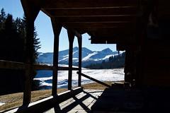 (Giramund) Tags: switzerland winter december alpinehut barn