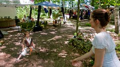 P1110448 (150hp) Tags: young boy xavier family cute happy mom amanda door county renaissance fantasy faire wi panasonic lx3