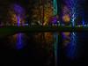 Winterleuchten - winter lights (achim-51) Tags: nacht winterleuchten outdoor see spiegelungen dortmund westfalenpark langzeitbelichtung night reflection panasonic lumix dmcg5