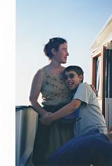 Catherine & Deniz, Sister Bay (ali eminov) Tags: outdoors sisterbay wisconsin people mothers sons motherandson catherine deniz