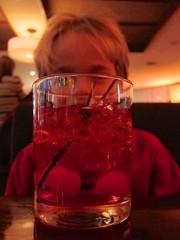 Everett And His Shirley Temple (Joe Shlabotnik) Tags: manhattan 2016 rockefellercenter newyorkcity drink justeverett nyc december2016 everett 60225mm