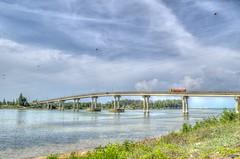 Jambatan Tok Bali, Kelantan (abiommacro2) Tags: bridge beach nature clouds landscape nikon scenery kelantan tokbali abiom