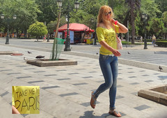 Greece, Macedonia, Thessaloniki, young blond woman in TAKE ME TO PARIS t-shirt (Macedonia Travel & News) Tags: macedonia ancient culture vergina sun thessaloniki republic nato eu fifa uefa un fiba greecemacedonia macedonianstar verginasun aegeansea mavrovo macedoniablog 16151873n macedoniagreece makedonia timeless macedonian macédoine mazedonien μακεδονια македонија travel prilep tetovo bitola kumanovo veles gostivar strumica stip struga negotino kavadarsi gevgelija skopje debar matka ohrid heraclea lyncestis