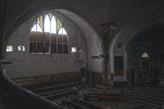 First English Evangelical Church (Super Fuzz) Tags: abandoned church ruins michigan detroit alter sanctuary urbex firstenglishevangelicalchurch