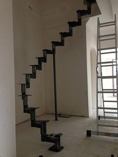 Çelik merdiven Ham hali