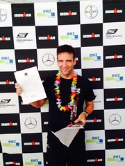 Carlos Belarra IronMan Finisher en Kona1