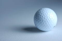 Golf Ball (DIGITALMOCEAN) Tags: shadow white texture smart golf corporate hit alone gloomy sad bright rich fast tournament planning lonely hightech determined engineered strategy golfball digitalmoceancom digitalmocean