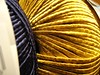 Golden blue (sifis) Tags: color art texture canon knitting athens yarn αθήνα sakalak σακαλακ μαλλια πλέκω sakalakwool