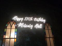 Monogram Projection - Mercury Hall