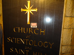 Warning at St Hill - 2014 (Mr Cheerful) Tags: scientology cult anonymous ias eastgrinstead sthill ias2014