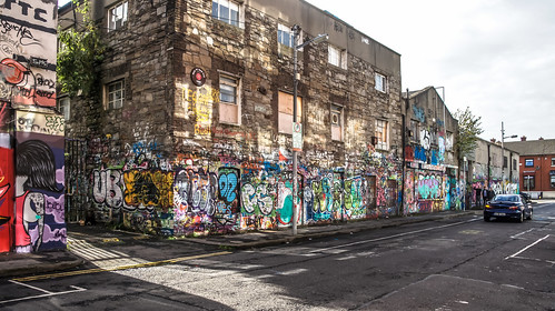 Windmill Lane [U2 Wall] In Dublin Docklands Ref-2227