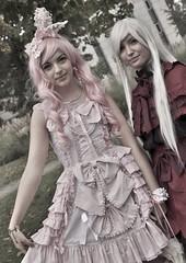 MondoCon _ IGP0584M (attila.stefan) Tags: pink autumn girls portrait anime fall girl hungary pentax cosplay budapest manga stefan zenit 58mm stefán con attila helios kx magyarország 2014 ősz portré hungexpo mondocon