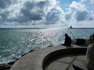 La pêche au soleil...
