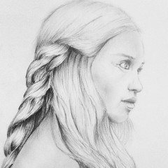 IMG_20140719_220216 (happinessaddicted) Tags: girl pencil hair sketch drawing picture draw braid skatches
