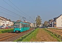 Nieder-Eschbach: U5 Wagen (alterralexey) Tags: bus germany underground subway u2 am metro frankfurt main siemens tram ubahn u1 u3 u4 bombardier u5 u8 u9 u7 stadtbahn u6