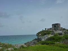 P1020356 (ferenc.puskas81) Tags: ocean sea america mexico temple ruins riviera mare maya god central july tulum winds 2010 oceano centrale messico luglio tempio
