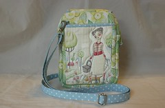 Small Bag with zipper closure and lots of pockets (Tracey Lipman) Tags: life travel by bag soft cross sweet body handmade small go purse annie strap zipper tracey shoulder stable handbag flap zip compact pocketbook cori closure truths adjustable lipman interfacing crossbody unrein dantini