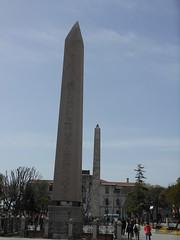 DSCN1111 (ferenc.puskas81) Tags: turkey istanbul obelisk april aprile obelisco constantinople goldenhorn byzantium turchia teodosio costantinopoli 2013 bisanzio