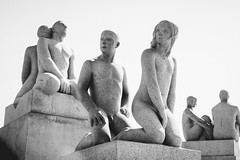 (Benson Kua) Tags: park cruise vacation people oslo norway garden europe euro statues sculptures frognerpark vigeland princesscruises gustavvigeland royalprincess dsc01176