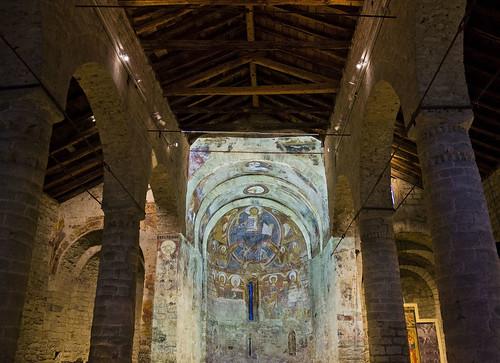 Interior de Sant Climent de Tahull