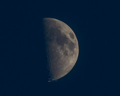 Moon (Taymur.alee) Tags: sky moon crescent astronomy nikkor 55200vr nikond5200