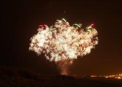Barassie beach fireworks display Troon Ayrshire (cmax211) Tags: display fireworks toodark troon ayrshire infocus barassie mediumquality