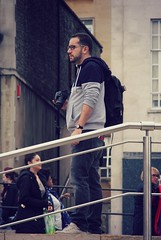 Photographing the Photographers - A fellow street photographer on the prowl in Bristol - Oct 2014 (TempusVolat) Tags: street digital canon eos photographer candid dslr canoneos gareth tempus 60d volat canoneos60d eos60d wonfor mrmorodo garethwonfor tempusvolat
