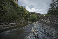 Ponte di Santa Filomena (danilodld) Tags: bridge italy water landscape liguria imperia 2014 cdp longesposure pievediteco