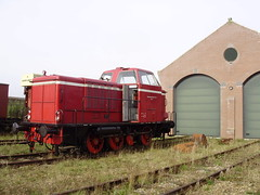 Stadskanaal (mostlybytrain) Tags: holland heritage netherlands train diesel locomotive preservation lok
