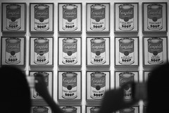 Andy Warhol Campbell's Soup - New York City (meszgaborxxx) Tags: new york newyork andy canon moma warhol a1 campbells ilford