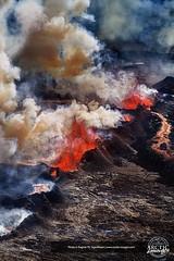 11476-157-178 (Ragnar TH) Tags: red hot fire volcano lava iceland glow smoke steam glowing temperature volcanic eruption hotspot magma fissure erupting bardarbunga holuhraun
