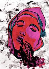 Enmudecimientos (Nicole Sofa) Tags: argentina illustration painting artist drawing buenos aires paintings drawings dibujos dibujo pintura ilustracion pinturas artista