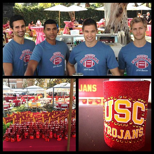 FOX USC VIP tailgate! #football #trojans #USC #foxsports #USCTrojans #FightOn #homecoming #bartenders #events #eventlife #beer #tailgating #losangeles #VIP #200ProofLA #200Proof