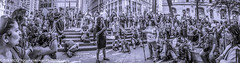 EM-141014-OWS-006 (Minister Erik McGregor) Tags: nyc newyorkcity newyork art revolution activism occupation 2014 ows russellbrand rustyrockets occupywallstreet owsnyc erikrivashotmailcom erikmcgregor 9172258963 ©erikmcgregor solidarity