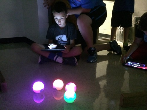 Sphero Race Fun by Wesley Fryer, on Flickr