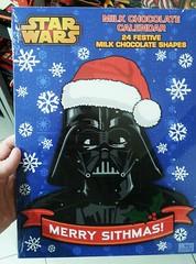 #MerrySithmas #MerryChristmas #starwars #darthvader #sith #chocolate #calendar #lordvader #samsunggalaxys3 (Sampsa Kettunen) Tags: starwars calendar chocolate darthvader merrychristmas sith lordvader merrysithmas samsunggalaxys3