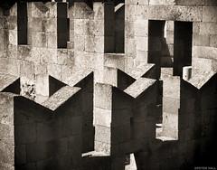 Angular (peterphotographic) Tags: shadow castle wall europe pattern olympus greece angular fortress rhodes rhodestown microfourthirds olympusepl5 camerabag2 epl5 p9180531cb2warmgreysedwm thepalaceofthegrandmasteroftheknightsofrhodes