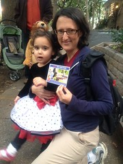 GOTV, Trick or Treating on Lanier Place, WDC - October 31, 2014