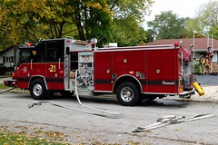 Hoffman Estates Fire Department Engine 21 (nick123n) Tags: truck fire engine rig department apparatus hoffman estates