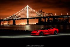 C7 Corvette Stingray (James Larieau) Tags: bridge red black island photography james bay san francisco gm treasure stingray chevy area corvette c7 z51 larieau cvhevrolet