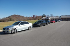 2014 BMW CCA Mountain Cruise (ktshawx) Tags: mountains cars forest wagon national bmw z4 m3 m5 pisgah cca
