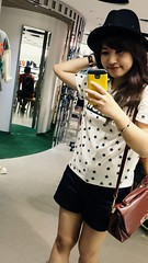 Outfit (Paula.HK) Tags: portrait people cute girl beautiful beauty fashion self asian outfit women pretty   selfie coordinate