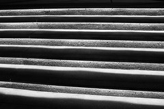 Stair Lights (JB by the Sea) Tags: blackandwhite bw canada calgary stairs stair alberta september2014