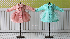 Anniedollz Handmade Blythe Outfits Lace Coat
