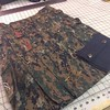 Custom embroidered Military Alt.Kilt in digital camouflage with a black sporran. http://www.altkilt.com/military