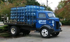 1942 Ford Cab-Over-Engine (COE) Truck (Custom_Cab) Tags: blue ford water truck aqua cab over engine 1942 coe flatbed