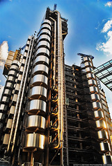 Lloyds of London Inside-Out Building. (Infinity & Beyond Photography: Kev Cook) Tags: city building london architecture skyscraper district financial lloyds insideout