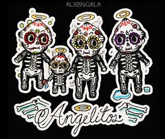 Angelitos by:Alejandra L Manriquez (ALXBNGALA) Tags: tattoo dayofthedead mexico tattoos mexican diademuertos diadelosmuertos kewpie tattooflash kewpiedoll traditionaltattoo mexicantattoo kewpietattoo diadelosangelitos alxbngala alejandralmanriquez