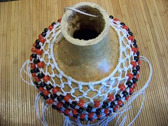 shekere for elegua (pauline_conlon) Tags: eshu santeria orishas elegua shekere